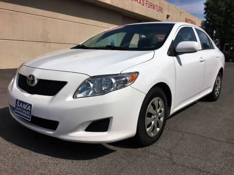 2010 Toyota Corolla for sale at Sama Auto Sales in Sacramento CA