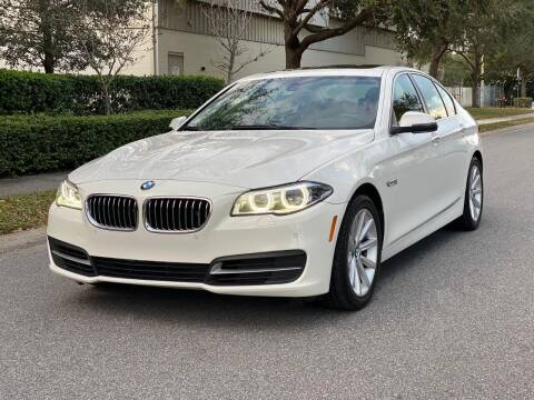 2014 BMW 5 Series for sale at Presidents Cars LLC in Orlando FL