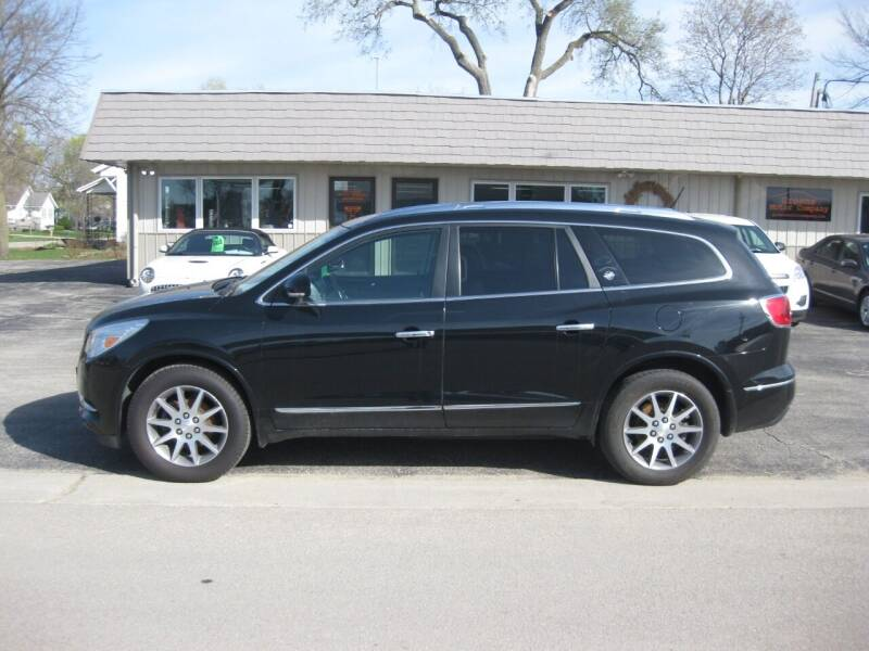 2017 Buick Enclave for sale at Greens Motor Company in Forreston IL