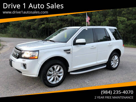 2015 Land Rover LR2 for sale at Drive 1 Auto Sales in Wake Forest NC
