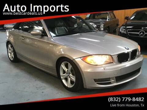 2008 BMW 1 Series for sale at Auto Imports in Houston TX