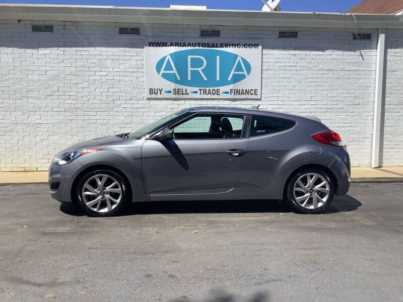 2016 Hyundai Veloster for sale at ARIA AUTO SALES INC.COM in Raleigh NC