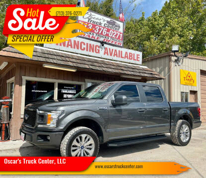 2018 Ford F-150 for sale at Oscar's Truck Center, LLC in Houston TX