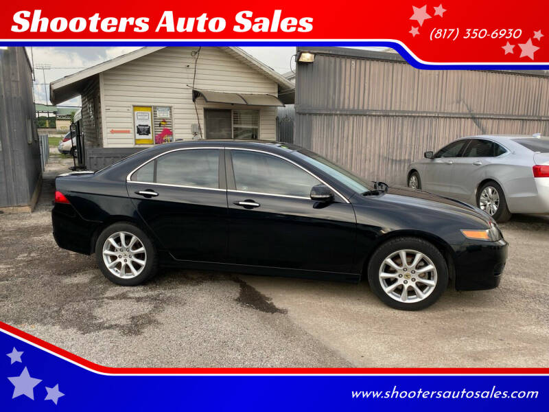 2007 Acura TSX for sale at Shooters Auto Sales in Fort Worth TX
