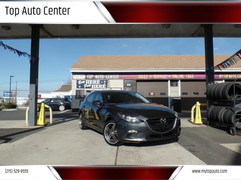 2015 Mazda MAZDA3 for sale at Top Auto Center in Quakertown PA