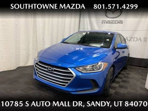 2017 Hyundai Elantra for sale at Southtowne Mazda of Sandy in Sandy UT