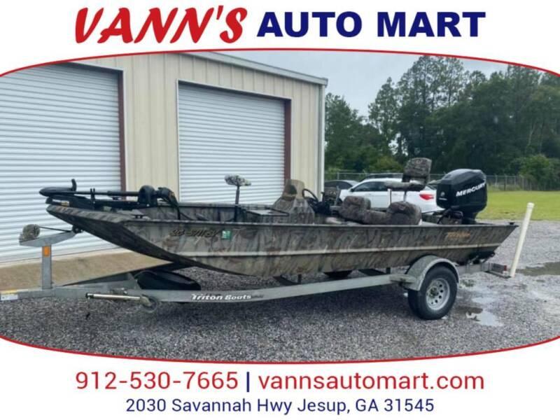 2006 Triton SC 3711 BV for sale at VANN'S AUTO MART in Jesup GA