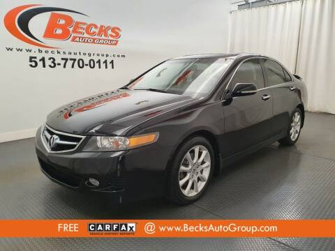 2008 Acura TSX for sale at Becks Auto Group in Mason OH