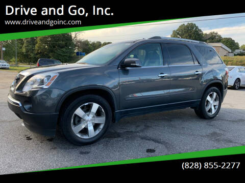 2011 GMC Acadia for sale at Drive and Go, Inc. in Hickory NC