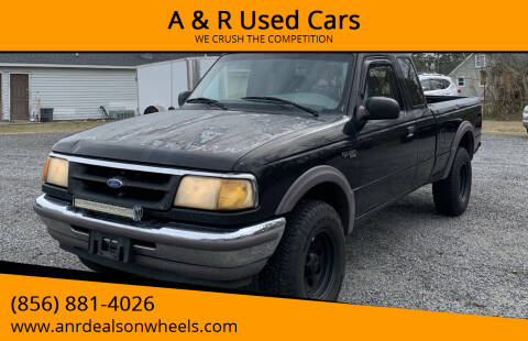 1997 Ford Ranger for sale at A & R Used Cars in Clayton NJ
