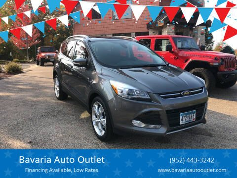 2014 Ford Escape for sale at Bavaria Auto Outlet in Victoria MN