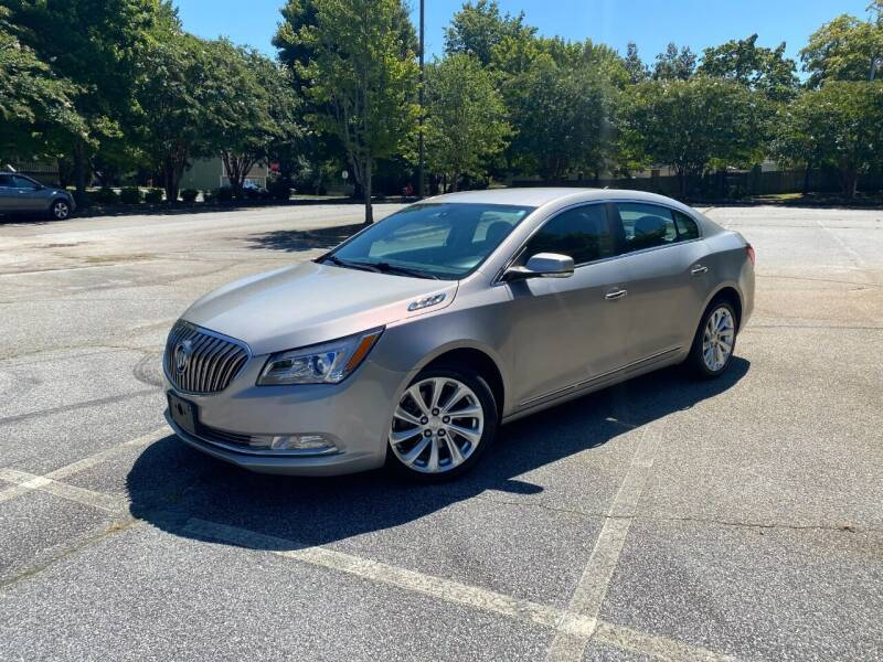 2014 Buick LaCrosse for sale at Uniworld Auto Sales LLC. in Greensboro NC