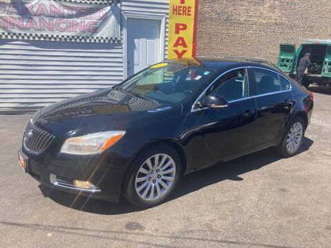 2012 Buick Regal for sale at RON'S AUTO SALES INC in Cicero IL