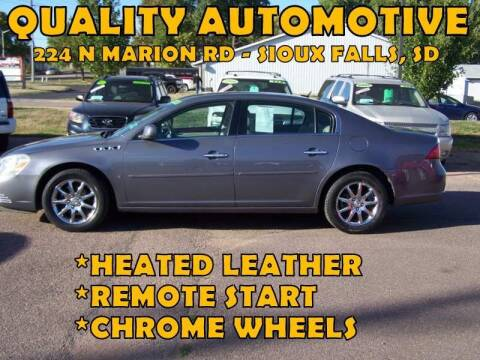 2008 Buick Lucerne for sale at Quality Automotive in Sioux Falls SD