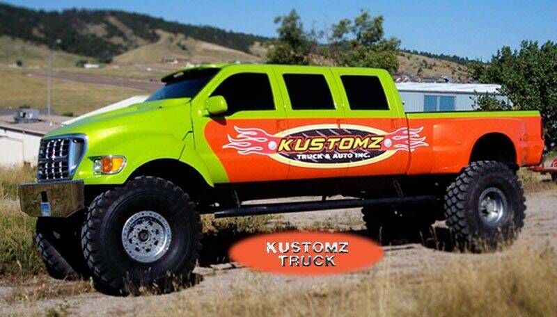2001 Ford F-550 Super Duty for sale at Kustomz Truck & Auto Inc. in Rapid City SD