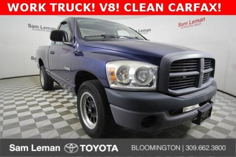 2008 Dodge Ram Pickup 1500 for sale at Sam Leman Toyota Bloomington in Bloomington IL