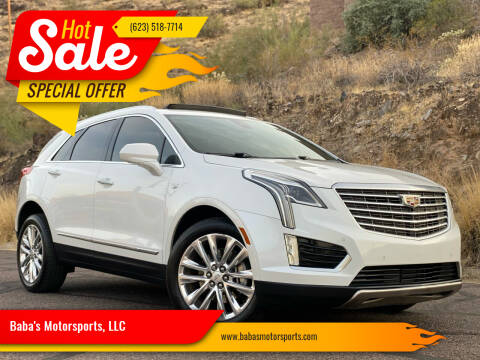 2017 Cadillac XT5 for sale at Baba's Motorsports, LLC in Phoenix AZ