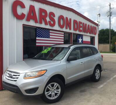 2010 Hyundai Santa Fe for sale at Cars On Demand 2 in Pasadena TX