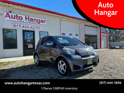 2012 Scion iQ for sale at Auto Hangar in Azle TX