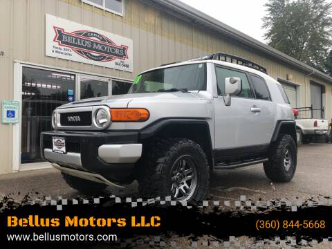 2008 Toyota FJ Cruiser for sale at Bellus Motors LLC in Camas WA