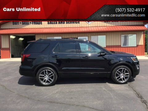 2016 Ford Explorer for sale at Cars Unlimited in Marshall MN