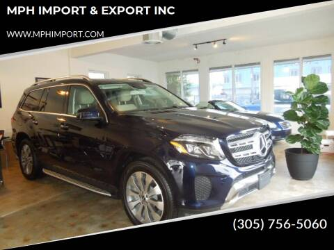 2018 Mercedes-Benz GLS for sale at MPH IMPORT & EXPORT INC in Miami FL