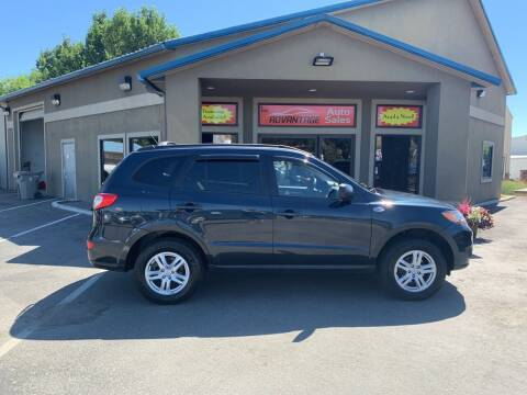 2010 Hyundai Santa Fe for sale at Advantage Auto Sales in Garden City ID