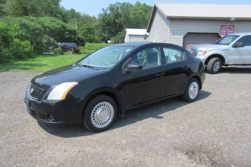 2008 Nissan Sentra for sale at Clearwater Motor Car in Jamestown NY