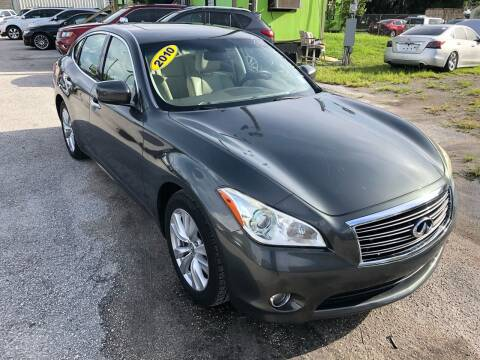 2011 Infiniti M56 for sale at Marvin Motors in Kissimmee FL