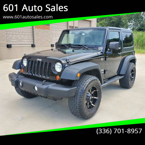 2013 Jeep Wrangler for sale at 601 Auto Sales in Mocksville NC