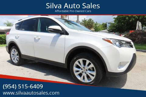 2014 Toyota RAV4 for sale at Silva Auto Sales in Pompano Beach FL