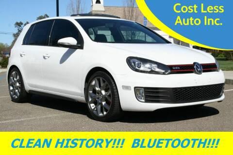 2013 Volkswagen GTI for sale at Cost Less Auto Inc. in Rocklin CA