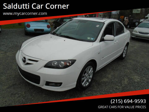 2007 Mazda MAZDA3 for sale at Saldutti Car Corner in Gilbertsville PA