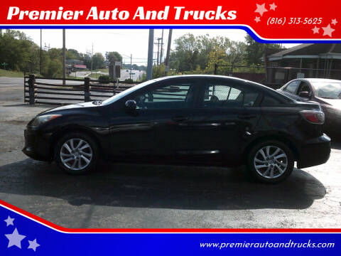 2012 Mazda MAZDA3 for sale at Premier Auto And Trucks in Independence MO