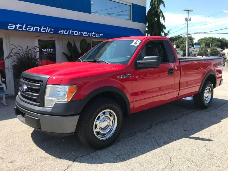 2013 Ford F-150 for sale at Atlantic AutoCenter in Cranston RI