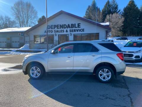 2015 Chevrolet Equinox for sale at Dependable Auto Sales and Service in Binghamton NY