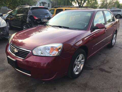 2006 Chevrolet Malibu for sale at New Stop Automotive Sales in Sioux Falls SD