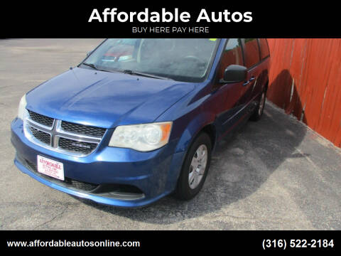 2011 Dodge Grand Caravan for sale at Affordable Autos in Wichita KS