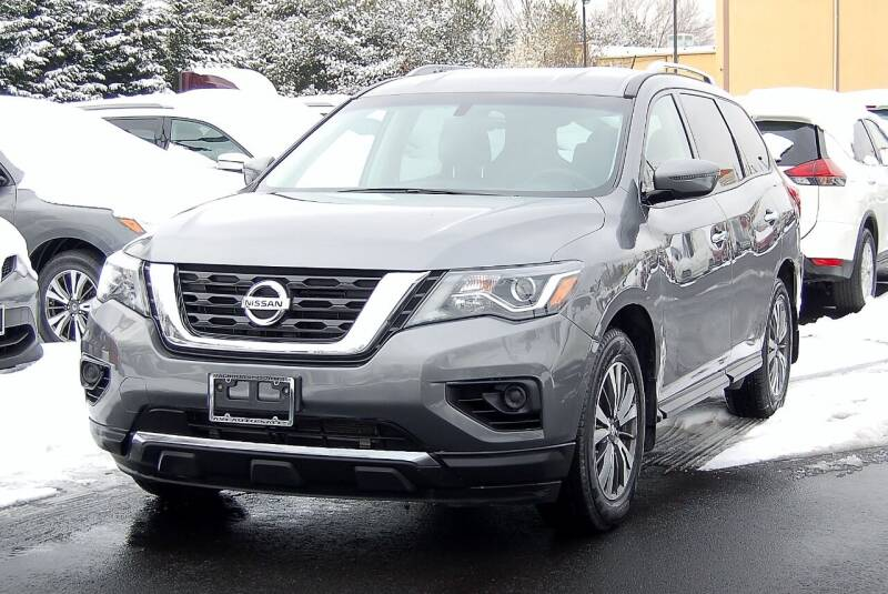2018 Nissan Pathfinder for sale at Avi Auto Sales Inc in Magnolia NJ
