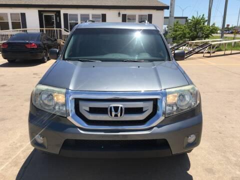 2010 Honda Pilot for sale at Zoom Auto Sales in Oklahoma City OK