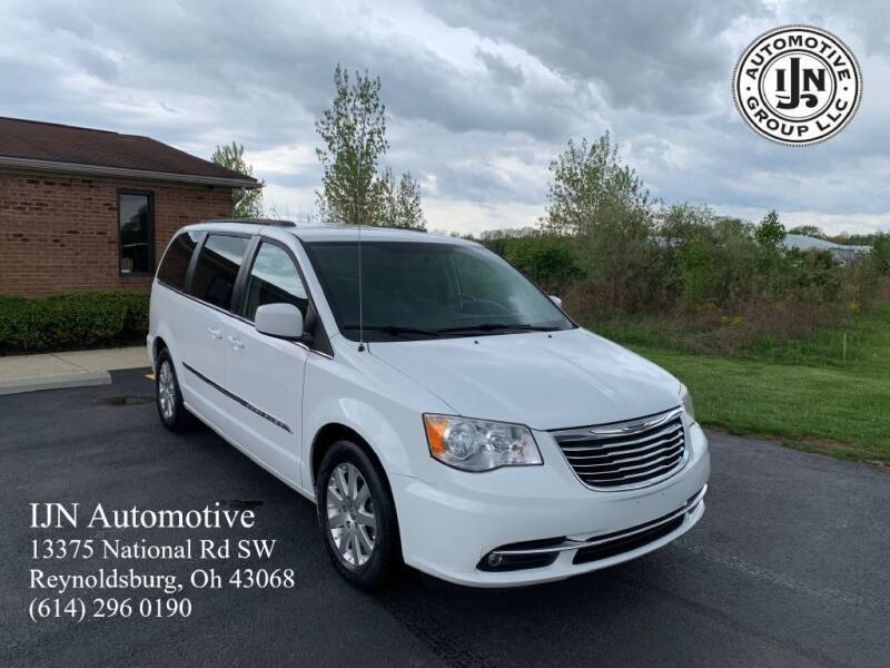 2014 Chrysler Town and Country for sale at IJN Automotive Group LLC in Reynoldsburg OH