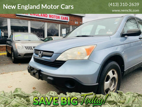 2009 Honda CR-V for sale at New England Motor Cars in Springfield MA