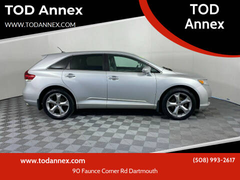 2013 Toyota Venza for sale at TOD Annex in North Dartmouth MA