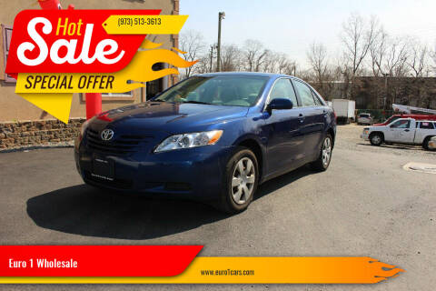 2008 Toyota Camry for sale at Euro 1 Wholesale in Fords NJ