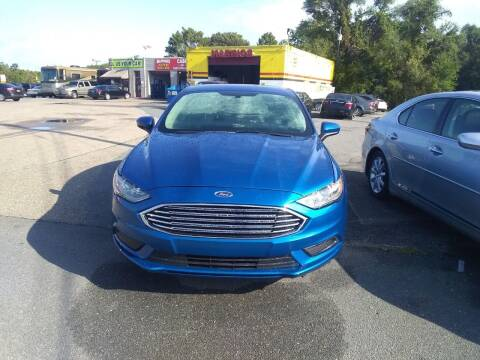 2017 Ford Fusion for sale at Marino's Auto Sales in Laurel DE