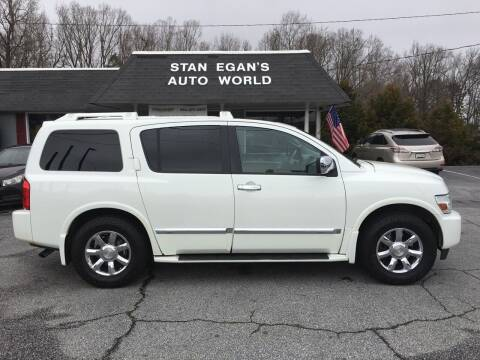 2007 Infiniti QX56 for sale at STAN EGAN'S AUTO WORLD, INC. in Greer SC