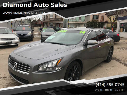 2014 Nissan Maxima for sale at Diamond Auto Sales in Milwaukee WI