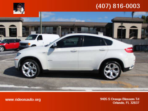 2011 BMW X6 for sale at Ride On Auto in Orlando FL