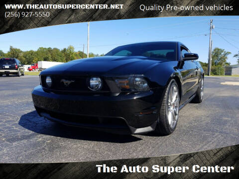 2012 Ford Mustang for sale at The Auto Super Center in Centre AL