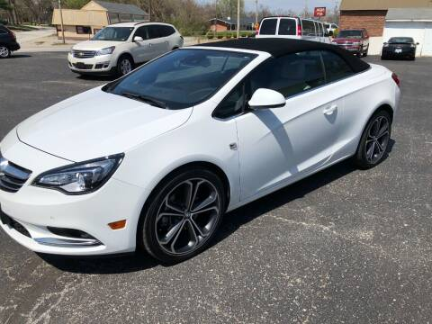 2016 Buick Cascada for sale at Teds Auto Inc in Marshall MO